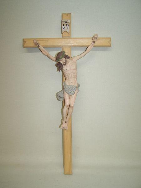 Christus Schlicht Lindenholz lasiert