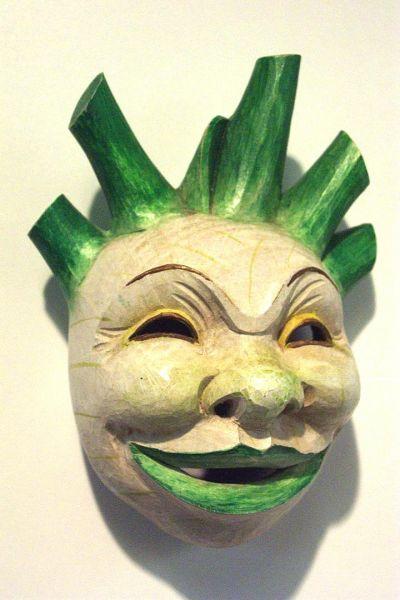 Fenchelknolle Masken Unikat