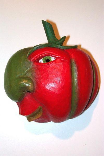 Tomate Masken Unikat