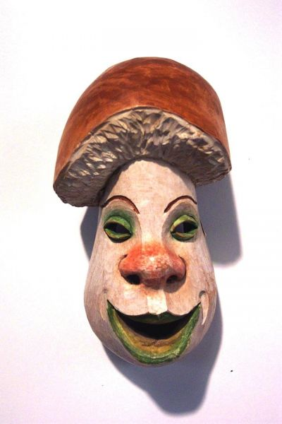 Steinpilz Masken Unikat