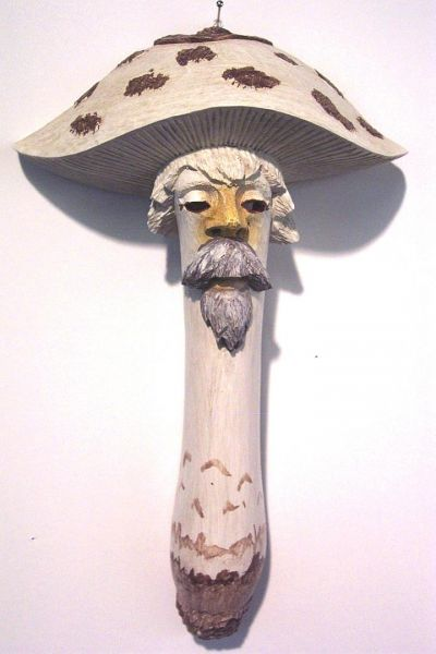 Parasol offen Masken Unikat