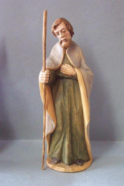 Josef stehend, Weymouthskiefer lasiert