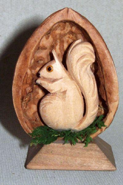 Nuß - Eichhönchen