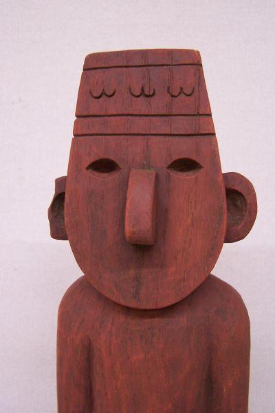 Holzarbeit / Dekoration -Arumbaya Fetisch