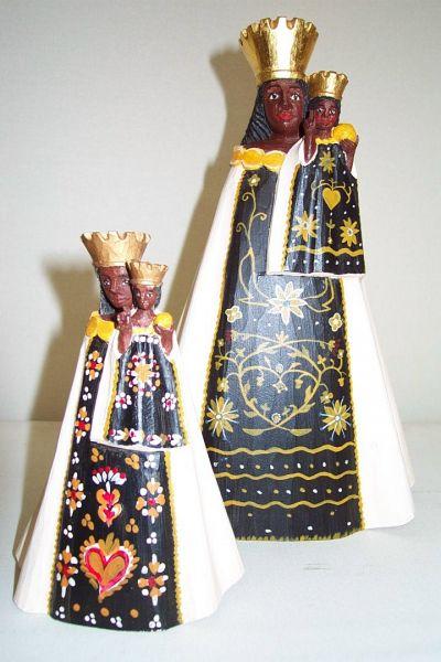 Loreto Madonna schwarz