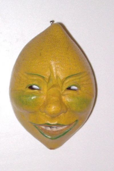 Zitrone Masken Unikat