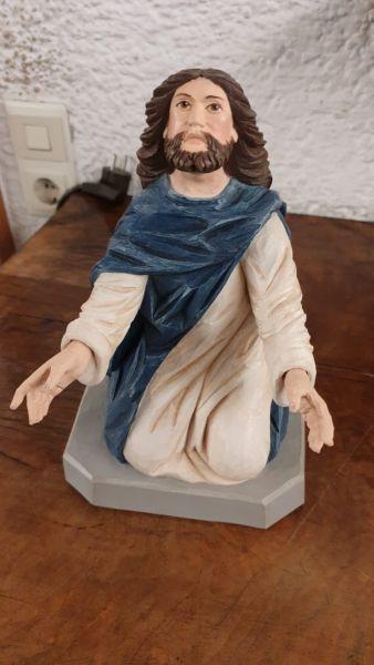 Jesus kniend - Ölberg gefasst