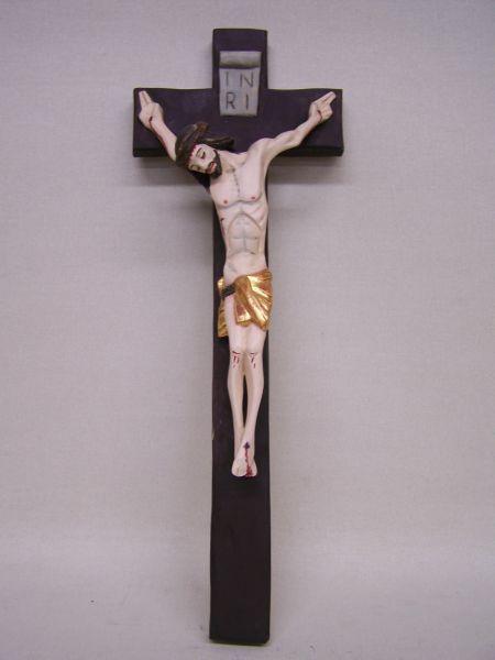 Kreuz gefasst