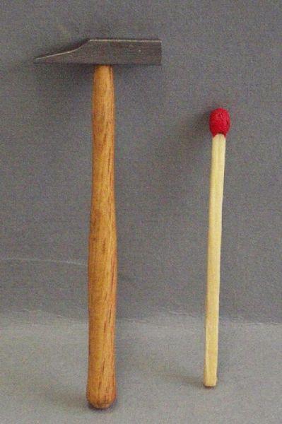 Schreinerhammer Holz / Eisen