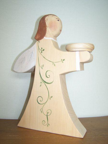 Engel klein gesägt-lasiert