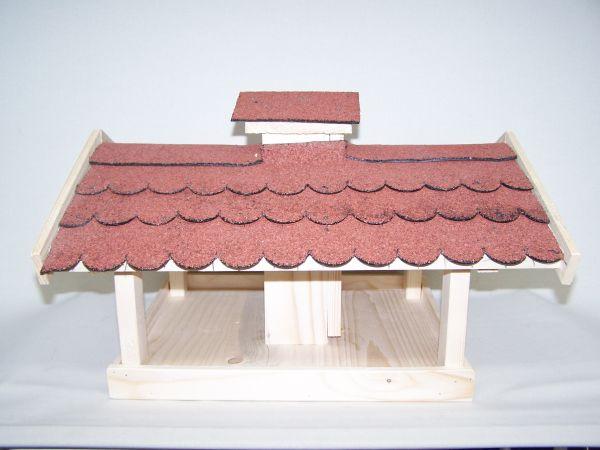 Vogelhaus-Futterhaus lang
