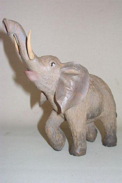 Elefant 2, Weymouthskiefer lasiert