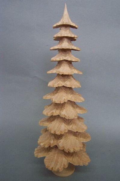 Tannenbaum Lindenholz natur
