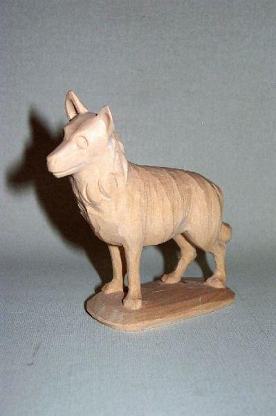 Hirtenhund Lindenholz natur