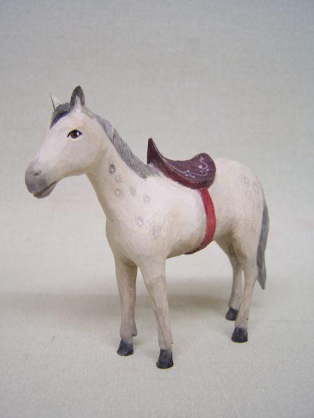 Pferd Weymouthskiefer lasiert