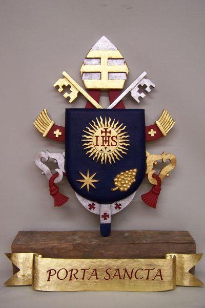 Papstwappen für den Wormser Dom