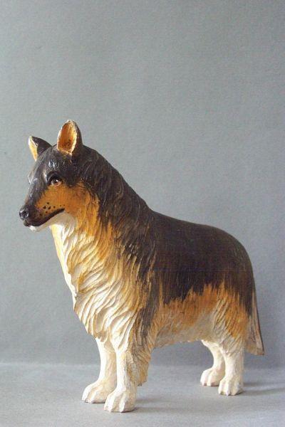 Hirtenhund, Linde detailliert lasiert