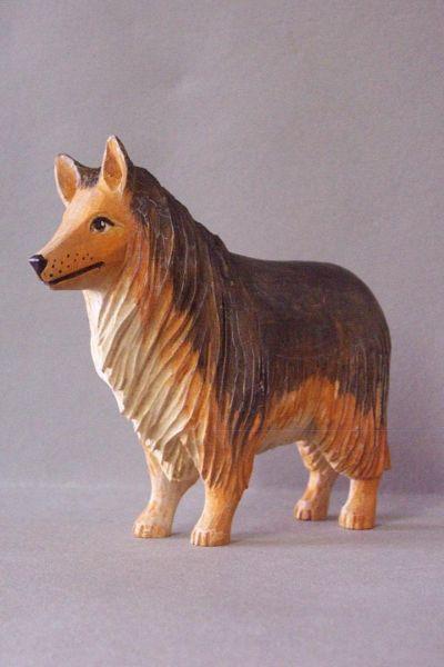 Hirtenhund, Linde deatailliert lasiert