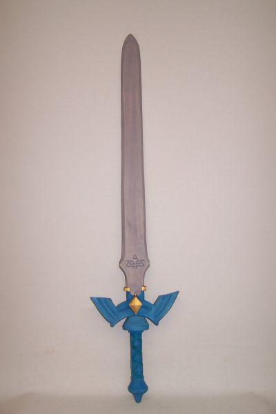 Schwert lasiert