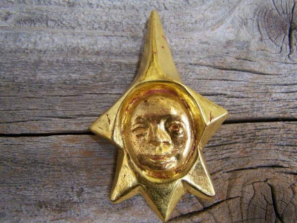 'Goldstern' Brosche & Anhänger