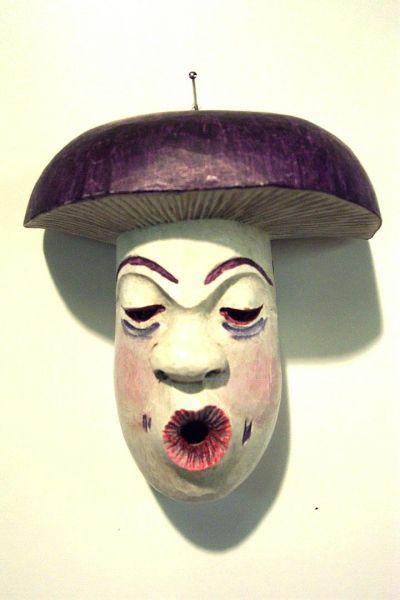 Täubling Masken Unikat