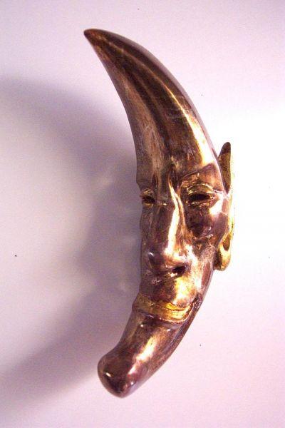 Halbmond Maske Unikat