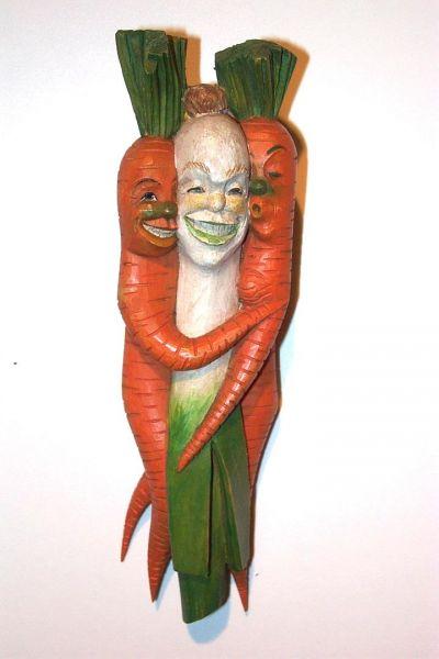 Bund Suppengrün Masken Unikat