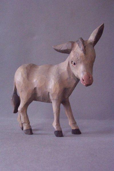 Esel, Weymouthskiefer lasiert