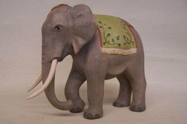 Elefant 1, Weymouthskiefer lasiert