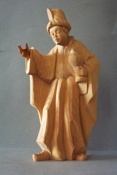 König 3 Kaspar stehend (Mohr) Weymouthskiefer natur