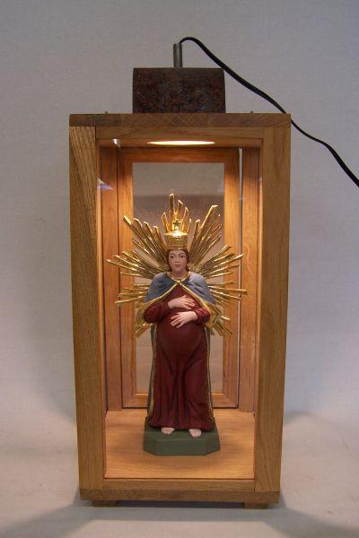 Bogenberger Madonna in der Laterne