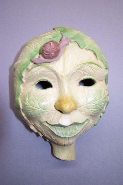 Weißkraut Masken Unikat