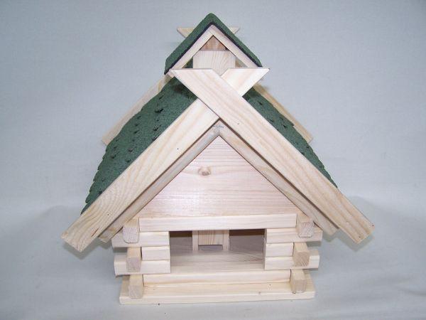 Vogelhaus-Blockhaus groß