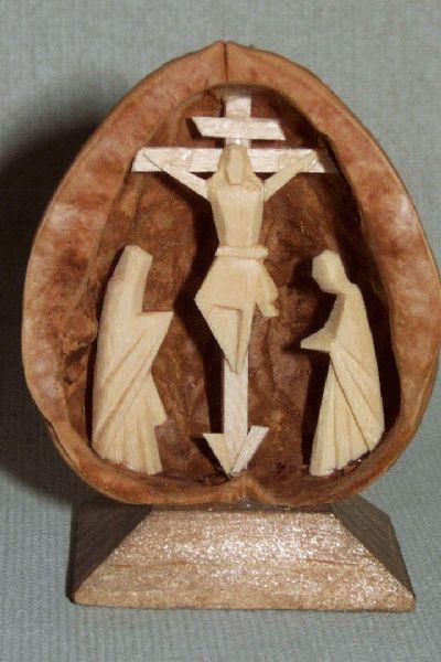 Nuß Kreuzigungsgruppe