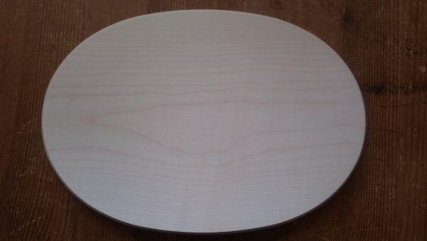 Brotzeitbrett oval groß