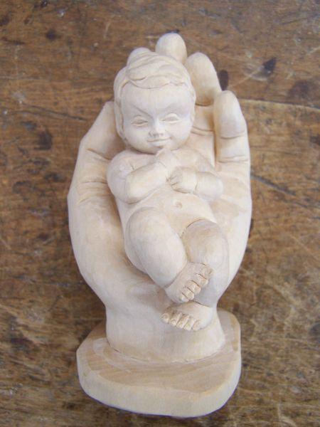 Schützende Hand (Baby) natur