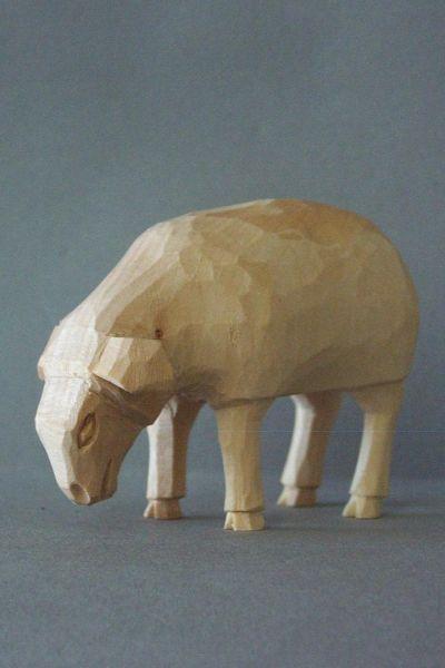 Schaf aesend, Kinderkrippe Linde natur