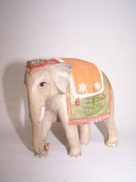 Elefant Weymouthskiefer lasiert