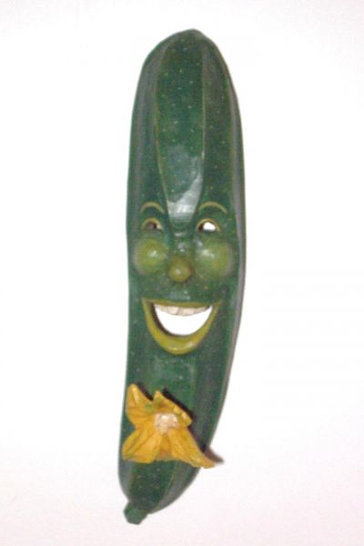 Zucchini Masken Unikat
