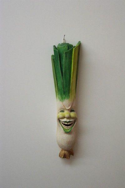 Lauch klein Masken Unikat