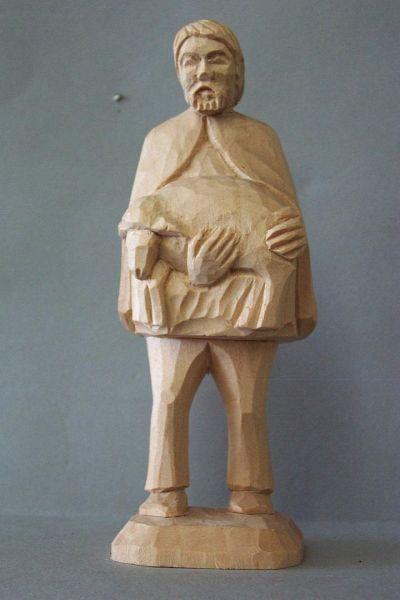 Hirte 2 mit Schaf, Kinderkrippe Linde natur