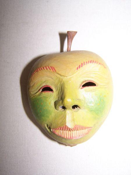 Apfel Masken Unikat