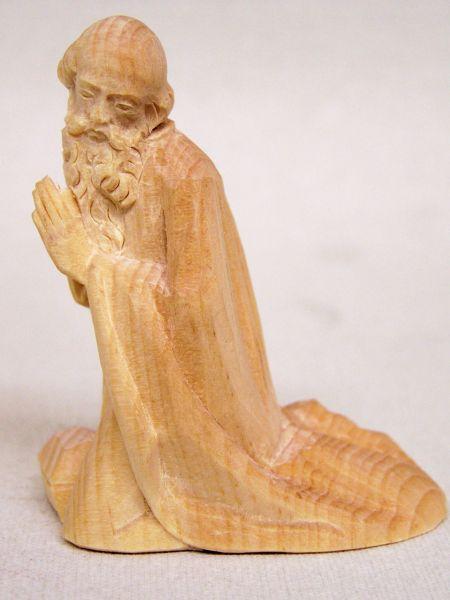 König 1 Melchior kniend Weymouthskiefer