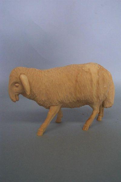 Schaf 3 stehend, Linde natur