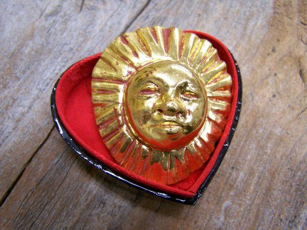 'Sonnengold' Brosche & Anhänger