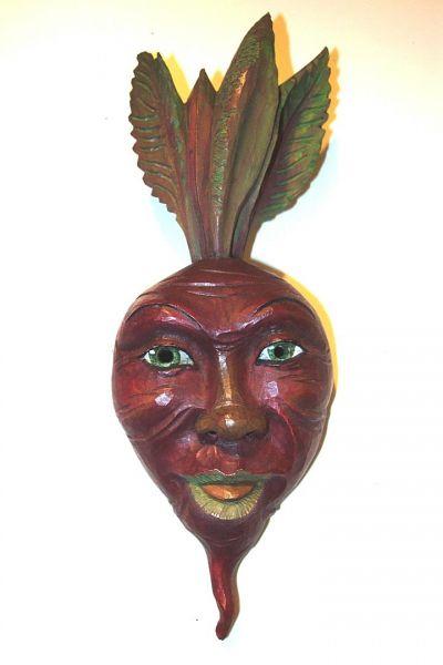 Rote Rübe Masken Unikat