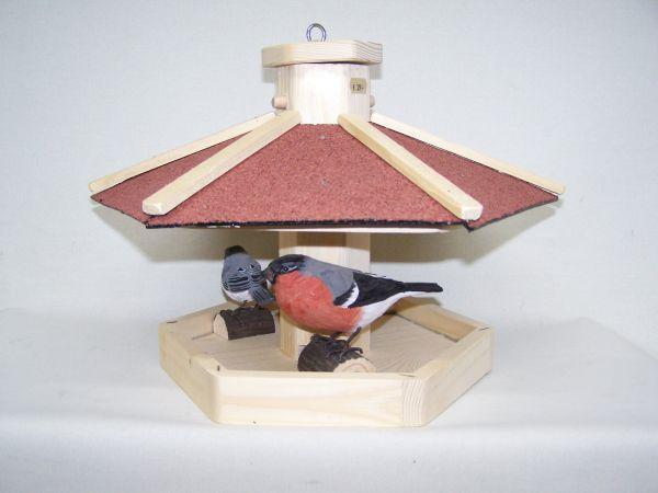 Vogelhaus-Futterhaus offen