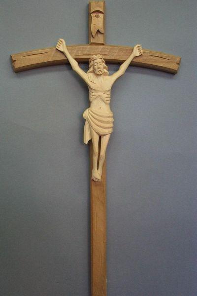 Christus Naiv Lindenholz natur