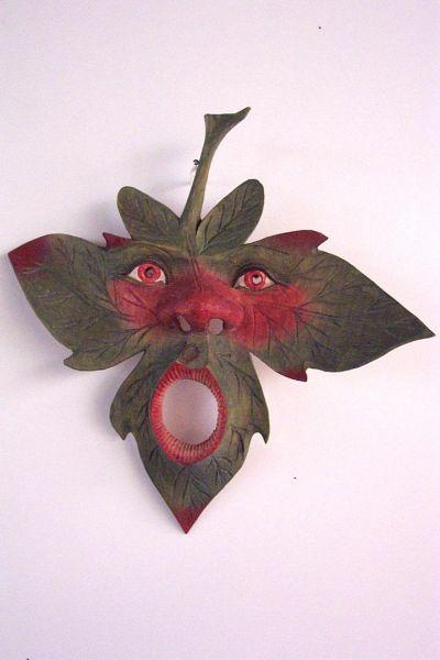 Ahornblatt Masken Unikat